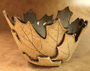 Small Maple Leaf Bowl 112