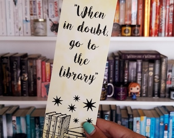 When In Doubt Go to the Library - Harry Potter