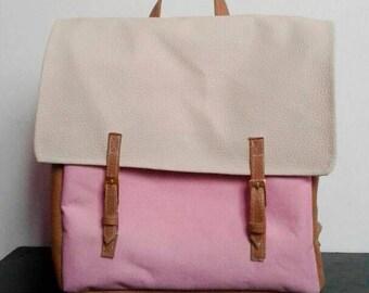 Canvas backpack, backpack trip, Ruckasack Backpack, Leather Backpack, Backpack Women Little Backpack, backpack bag,