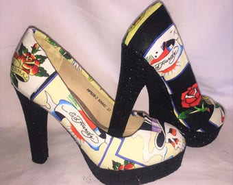 Ed Hardy shoes / heels * * * uk sizes 3-8 * * *