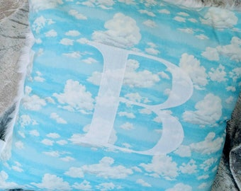 Cloud cushion personalised cushion decorative cushion nursery accessory bedroom decor