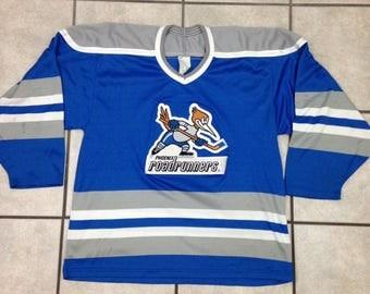 Vintage Phoenix Roadrunners Minor League Hockey Jersey - Size Small / Medium - Bauer ProWear