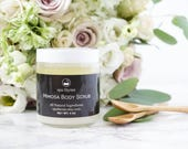 Mimosa Body Scrub | Bath and Body Products | Spa Products | Sugar Scrubs | Body Scrubs | Wholesale | Bath and Beauty