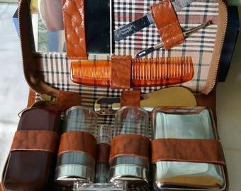 Vintage Gentleman's Travel Grooming Set
