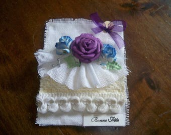 fabric card comes with an envelope