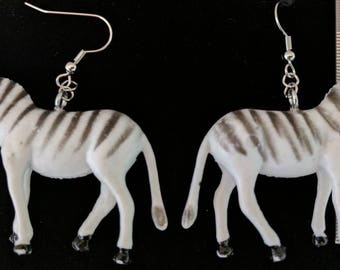 Zebra earrings #271