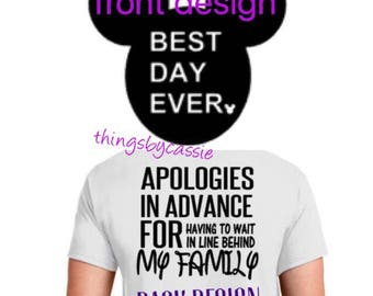 Best day ever, best day ever Disney, Disney family shirts, Disney tank top, Disney tank, Disney shirt, Disney vacation shirt,