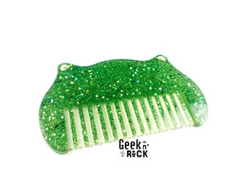 Comb glitter kawaii cat ears adults or children hair accessory hair