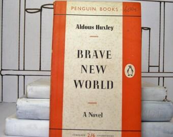Brave New World by Aldous Huxley (Vintage, Penguin, Classics)