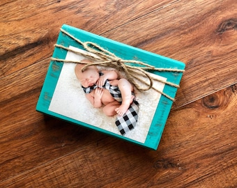 Twine Bow Picture Frame