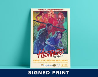 Heathers the Musical - Signed Print