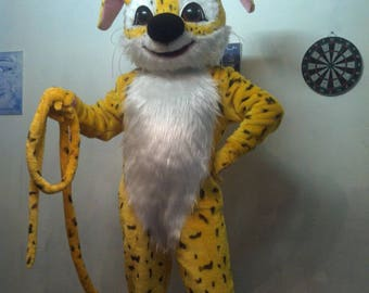 Custom leopard costume fursuit mascot. Ready to sell