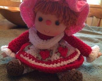 Strawberry Shortcake Doll Pattern