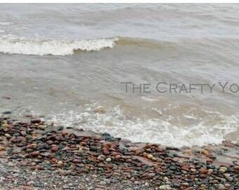 Gull Point Beach, 4x6 print