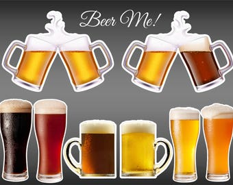 Beer Photo Booth Props