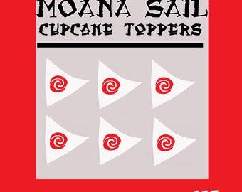 Fabulous image with moana sail printable
