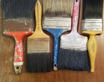 Vintage paint brushes lot#2