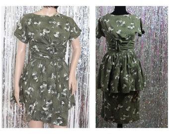 Handmade Floral Handmade A-Line Dress (4-6)