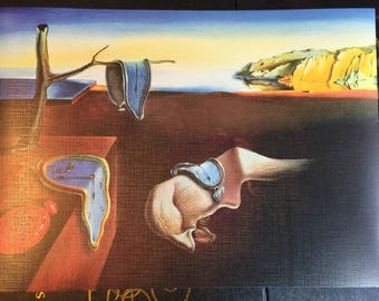 The Persitence of Memory by Salvador Dali print