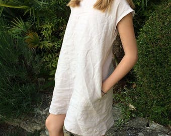 Like MOM linen summer dress