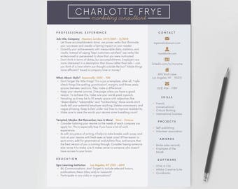 resume template resume cv creative resume professional resume template minimalist cv - Downloadable Resume Templates