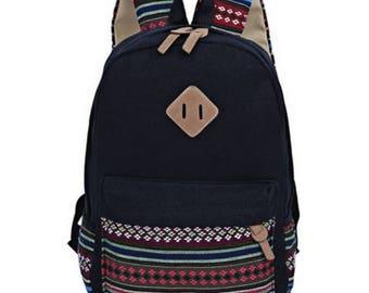 Ethnic Style Girls Casual Backpacks