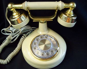 "1970""s Royal Princess Rotary Telephone by Western Electric"