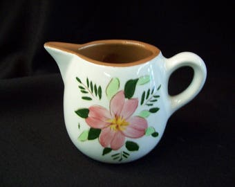 "Vintage Stangl Pottery ""Country Garden"" Cream Pitcher"
