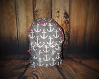 Anchor Backpack, anchor back packs, backpacks, monogrammed back pack, personalized back pack,  backpacks, girl back packs, school backpack