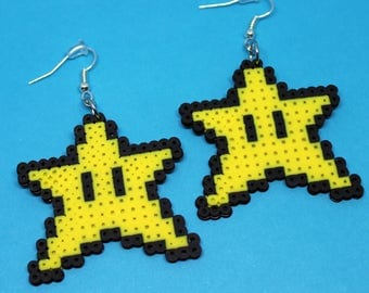 Power Star Earrings - Super Mario Bros.