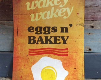 Wakey Wakey Poster