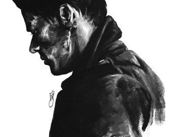 Harry Styles - Soldier by Usloual - Art print