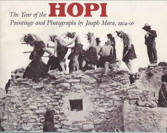 JOSEPH (Jo) MORA ~ HOPI paintings & photographs 1904-1906 exhibition ctalog Native American, Indian, Western art