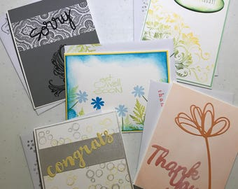 Variety Set of 5 Cards for Many Occasions