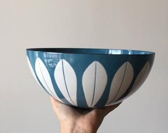 "Catherineholm Light Blue Lotus Bowl 9.5"""