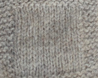 Light Gray Sheep 2 ply Sport Weight wool yarn undyed skein farm yarn