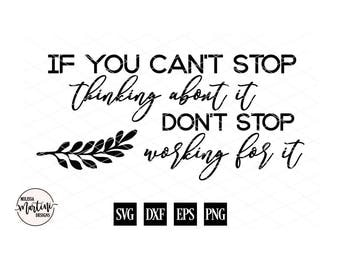 Motivational Quote, New Career, New Job, Wedding Gift, Gift for Her, SVG, DXF, Cut File for Silhouette Cricut