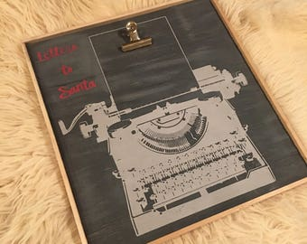Letters to Santa sign - SALE