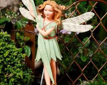Miniature fairy garden Willow Fairy Gardening Flower Fairy Retired