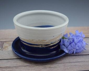 Handmade Ceramic Planter, Handmade Flower Pot, Small Planter, Succulent Planter, Wheelthrown
