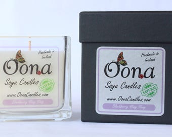 Blackberry Ylang Ylang 100% Natural Soya Wax & Essential Oil Candle