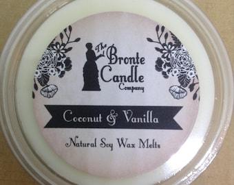 Coconut & Vanilla Wax Melt Pots