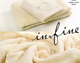 Custom Personalized Embroidered Hand and Bath Towels - Infine imabari towel - Made In Japan - Organic Type