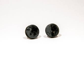 Studs wood black/grey