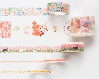 Girls Washi Tape - Pink Set