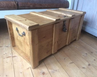 Trunk coffee table Etsy