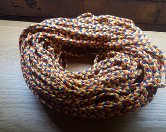 6mm Colors Braided Cotton Cord