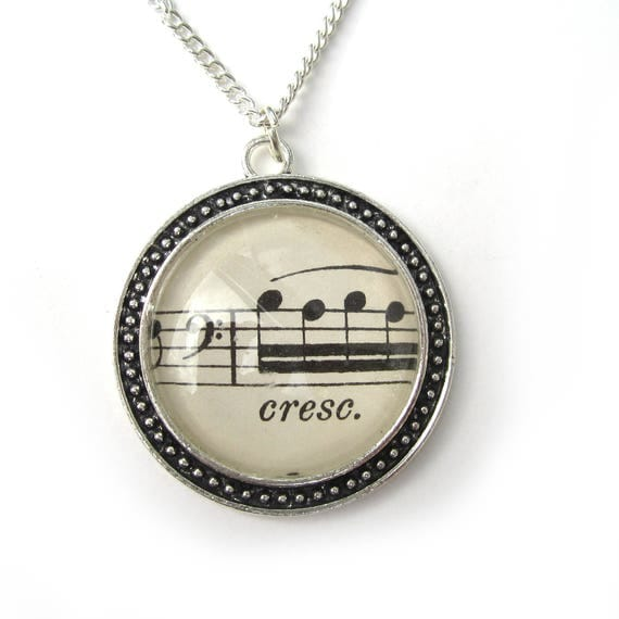 Necklace -  music variations 30 mm