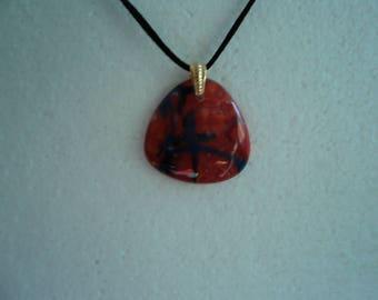 Triangle Glass pendant