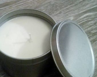 Soy Candle Scent Lavender Vanilla